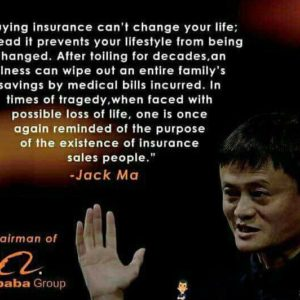 Jack Ma Insurance For Investors Quotes
