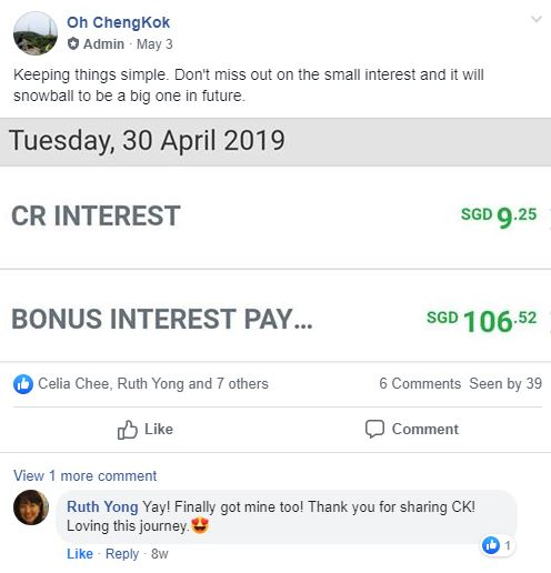The Best Saving Account in Singapore REV 2