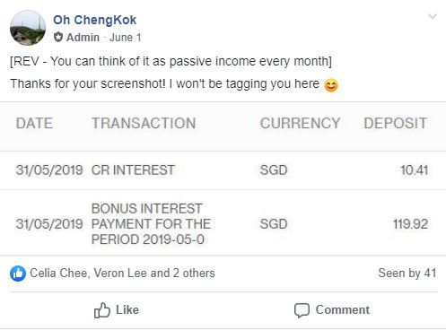 The Best Saving Account in Singapore REV