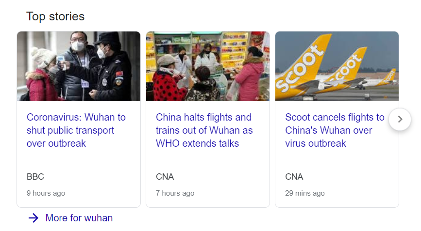 Wuhan Coronavirus Learning From SARS