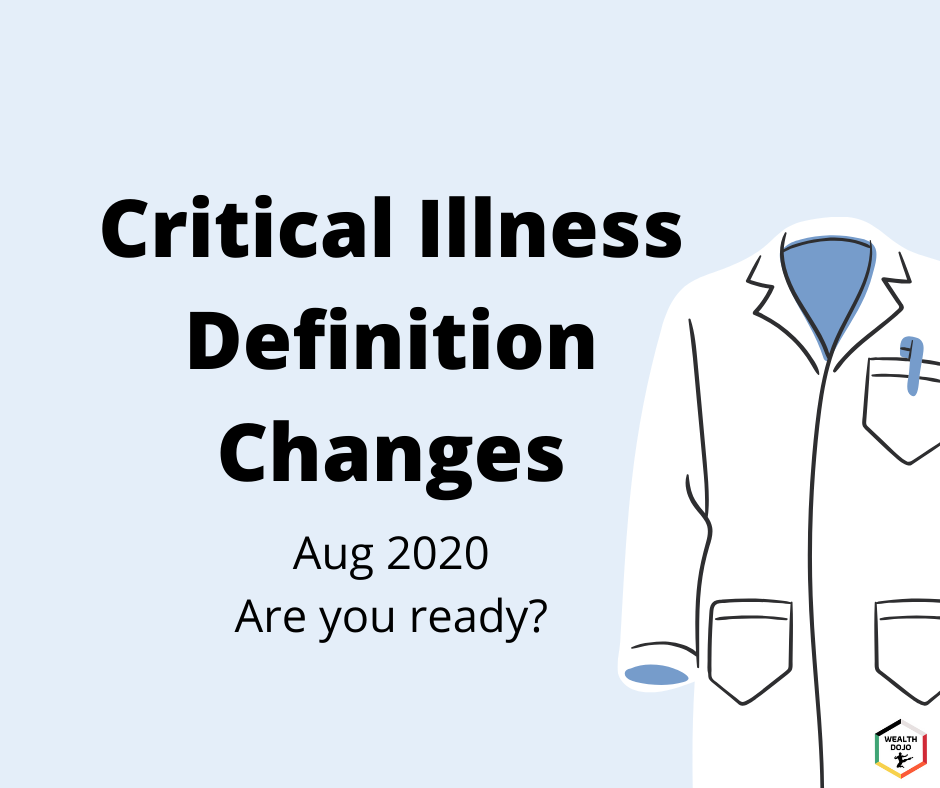 Critical Illness Definition Changes Aug 2020