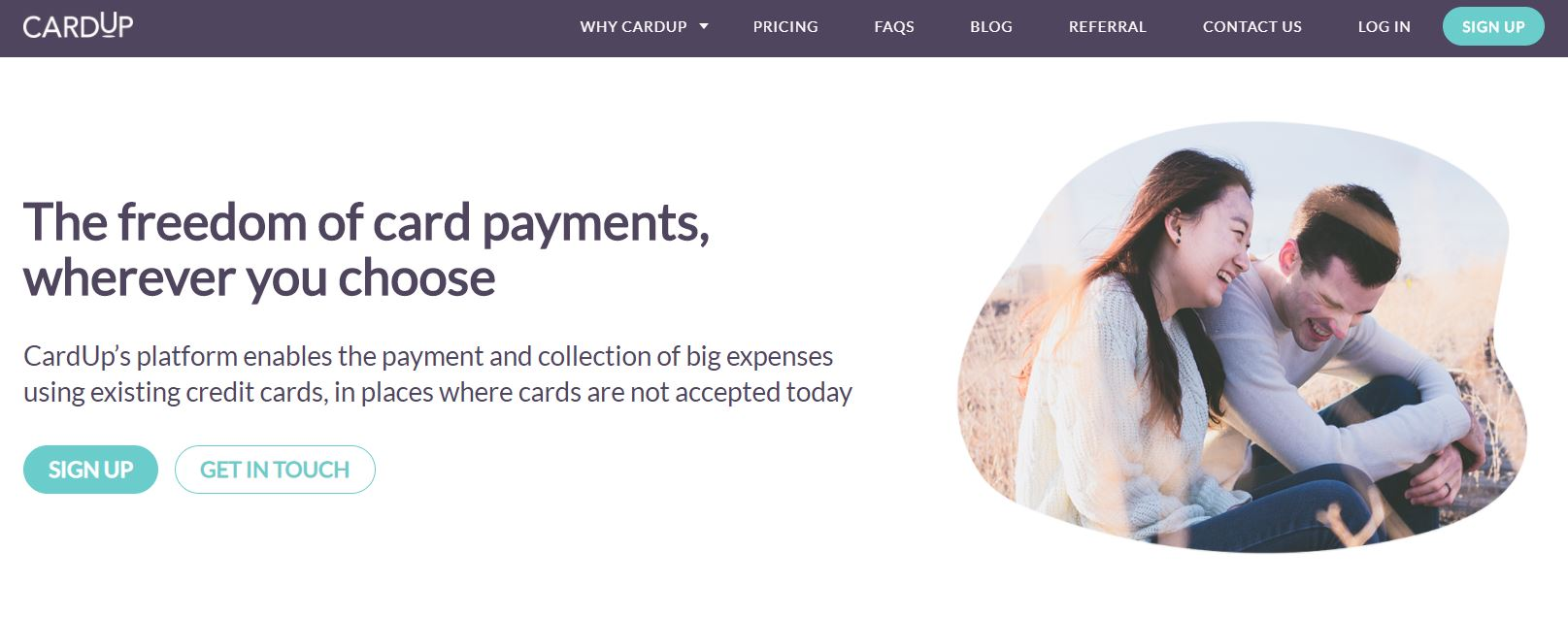 Maximise your Credit Card Miles and Cashback Using Cardup Mainpage