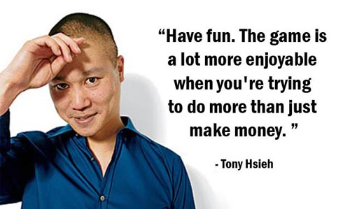 5 Ways Tony Hsieh Changed The World Quote