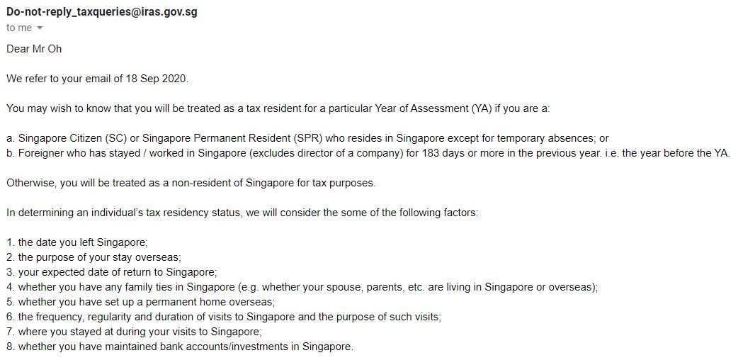 3 things you need to know about SRS if you plan to leave Singapore Tax Resident