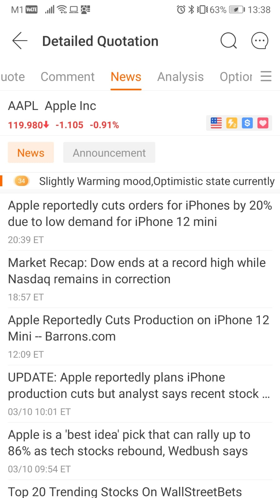 Moomoo FUTU Singapore Apple News
